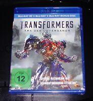 Transformers 4 Epoca Del Tramonto IN 3D blu ray Spedizione più Veloce Nuovo &