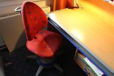 Moll Schreibtischstuhl Stuhl Maximo Forte - roter Bezug - höhenverstellbar