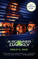 A Scanner Darkly by Philip K Dick paperback book FREE SHIPPING