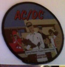 AC/DC dirty deeds done dirt cheap 2004 sew on patch NEW!