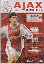 Programme / Programma Ajax Amsterdam v Feyenoord Rotterdam 01-11-2009