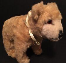 """Vintage ACE SHOJI 9"""" Stuffed Polar Bear Plush RARE Tokyo, Japan"""