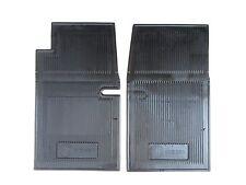 MG Midget MK2 & MK3 NOS Amco Black Rubber Floor Mats