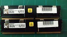 Kingston HP 413015-B21 398709-071 16GB PC2-5300F 2x8GB Kit DDR2 667 Dual Ranked