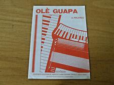 Ole Guapa - Tango, für Akkordeon  -  Einzelausgabe