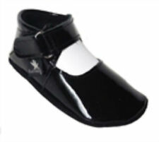 Baby Paws ALL LEATHER First Walkers - JUDY - Black Patent -Size 3 (9-12months)