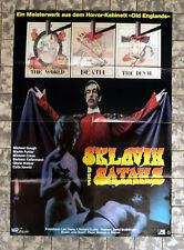 SATAN`S SLAVE * M. Gough - German 1-Sheet FILMPOSTER 23x33inch ´76 EVIL HERITAGE