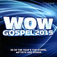 Various Artists - Wow: Gospel 2015 [2CD] 2015 ** NEW **
