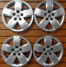 "Set Of 4 53076 NEW 16"" Bolt-On Hubcap Wheel Cover 2007-2008 For Nissan ALTIMA"