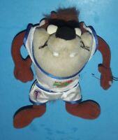 "Tasmanian Devil Taz Warner Bros Space Jam Looney Tunes 1996 Plush Toy Animal 8"""