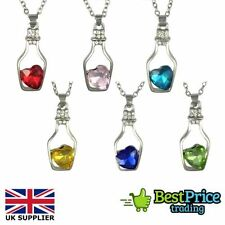 Crystal Alloy Heart Costume Necklaces & Pendants