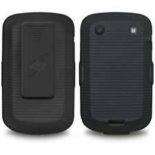 Blackberry Bold 9900 9930 Shell Holster Combo Case with Clipstand & Belt Clip