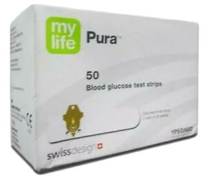 Mylife Pura Blood Glucose Test Strips (2x50)