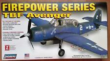 TBF Avenger  US Navy   Firepower Series    WW2                     1/48 Lindberg