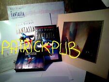 FANTASIA '39 LITOGRAFIA ORIGINALE '91 DISNEY +2 CD + VHS +LIBRO NO DVD NO BLURAY