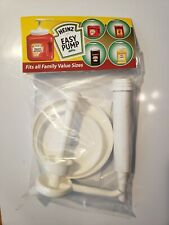 Heinz Easy Pump Fits All Family Value Sizes Condiment Ketchup Mustard Dispenser