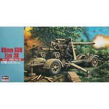 Hasegawa Mt38 88mm Gun Flak 36 1/72 Scale Kit