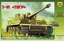 Zvezda 1/35 Tiger I Ausf. E GERMAN HEAVY TANK (EARLY PRODUCTION) # 3646