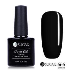 7.5ml Soak Off UV Gel Polish Sequins Glitter Nude Nail Art Gel Varnish UR SUGAR