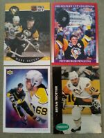 Penguins Hall of Famers/stars 507 card lot: Lemieux Jagr Recchi Coffey Francis +