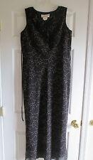 Motherhood maternity dress size medium M ladies black sleeveless career pullover