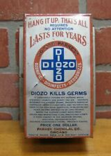 Old DOCTOR PARKERS DIOZO KILLS GERMS Advertising Tin Chicago Quack Medicine
