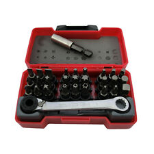 Teng Tools 29 Piece Mini Bit Box Set 1/4 inch Drive Socket TM029 ""