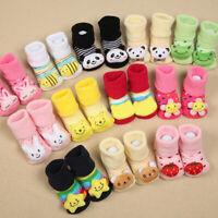 Cartoon Baby Anti-slip Socks Newborn Slipper Shoes Boots Kids Girls Boy Socks