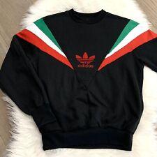 Rare Authentic Adidas Originals Rocky Balboa 1980's Sweatshirt Italian Sz M