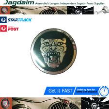New Jaguar S-Type XJ XK8 X-Type Silver / Green Wheel Center Cap Badge C2C26061