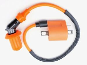 Ignition Coil Pack 4VPO1257 For Yamaha YW50 Zuma 50 BWS 50 BeeWee 50 100 YW100
