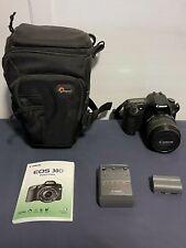 Canon EOS 30D 8.2MP DSLR Camera + EFS 17-85mm Lens + Lowepro Toploader Pro Bag