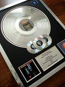 Depeche Mode Black Celebration MULTI PLATINUM DISC LP Record Award