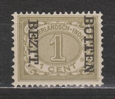 Nederlands Indie Netherlands Indies 82f MNH CANCEL BUITEN BEZIT kopstaand 1908