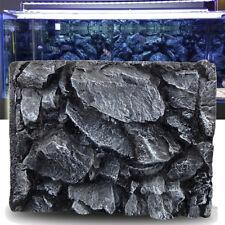 3D Stone Aquarium Background Home Fish Tank Backdrop Reptile Boards 60x45cm