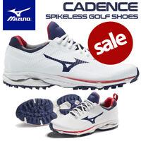 Mizuno Wave Cadence Men's Spikeless Golf Shoes White/Blue Depth - NEW! 2020