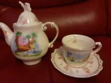 More details for disney  parks alice in wonderland novely cheshire teapot  teacup saucer