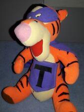 "Mattel Disney 1995 Tigger 10"" Plush Superhero Storybook"
