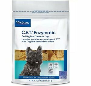 Virbac C.E.T. Hygiene Chews for Small Dog - 30 Count
