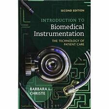 Introduction to Biomedical Instrumentation: The Technol - Hardback NEW Christe,