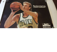 Larry Bird Sports Illustrated Original US Subway Poster Boston Celtics 45x60