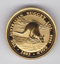 2003 $100 Australian Nugget - Kangaroo Series Gold Coin 1oz ounce