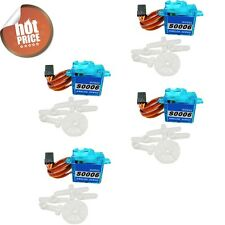 4pcs plastic RC Servo mini micro 6g for Rc helicopter Airplane Foamy Plane   F