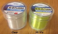 K9 Fluorocarbon Fishing Line - Choice of Sizes and Colors Available