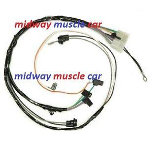automatic trans console wiring harness 68 69 70 71 72 Chevy Chevelle Malibu