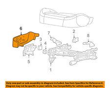 "GM OEM Seat Track-Trim Panel Left 19121887 ""Black"""