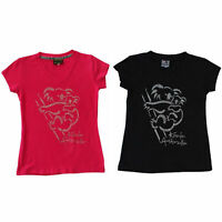 Womens Ladies T Shirt Australian Australia Souvenir w Rhinstone Cystal – Koala