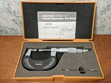 Mitutoyo 0 1 Inch Blade Micrometer No 122 125 With Case