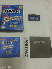 Game Boy Advance Aggravation Sorry Scrabble Jr Nintendo DS Video Games FREE Ship
