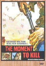 MOMENT TO KILL George Hilton DVD Spaghetti Western NEW Walter Barnes